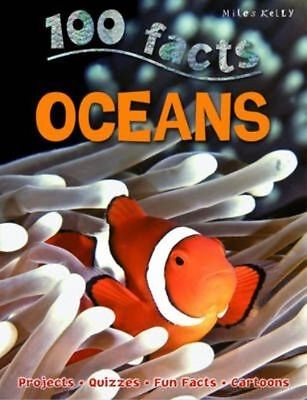 Oceans (100 Facts) by Belinda Gallagher | Paperback Book | 9781782091943 | NEW