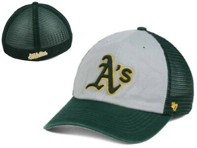 free shipping d3589 36647 ... purchase nwt mlbt oakland as athletics 47 brand ravine closer mesh flex  osfa hat cap gd