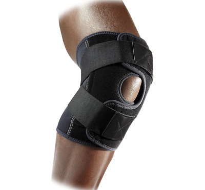 McDavid Level 2 Knee Support / Adjustable / Cross Straps Unisex 4195 +