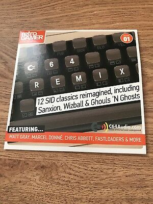 Retro Gamer Magazine Commodore C64 Audio CD Volume 1 Remix