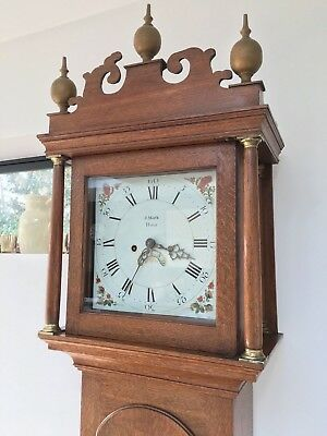 Handsome Norfolk Longcase Clock from Holt with family history to Burnham Market