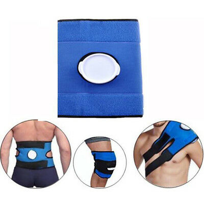 Hot Cold Therapy Wrap Ice Pack First Aid Sports Pain Relief Reusable  Bag Strap