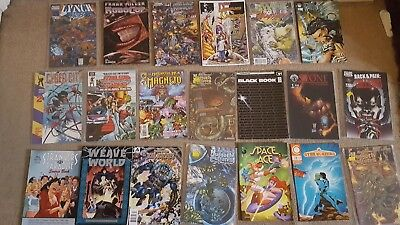 collection x20 American  collectors comics 80s-2000s inc robocop chaos etc