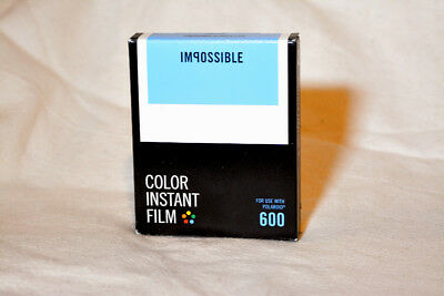 Impossible Project Color Instant Film for Polaroid 600 Cameras PRD4514