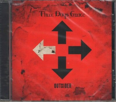 THREE DAYS GRACE - OUTSIDER (2018) CD Jewel Case by Warner Music Russia+GIFT