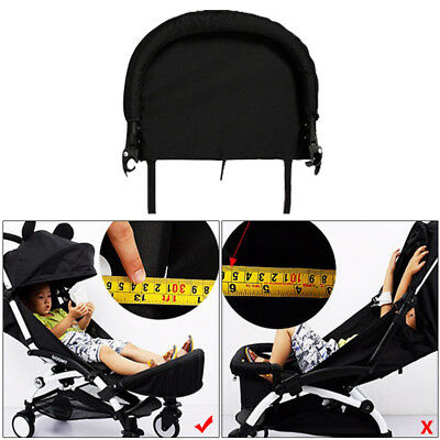 Strollers Accessories Generic Baby Stroller Footrest 32cm Bumper Toddler Baby Stroller Booster Feet Infant Baby Stroller Foot Dragging