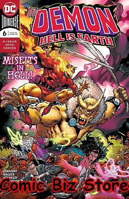 Demon Hell Is Earth #6 (Of 6) (2018) 1St Printing Dc Comics Bagged & Boarded