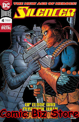 Silencer #4 (2018) 1St Printing Dark Nights Metal Tie-In Dc Universe Batman