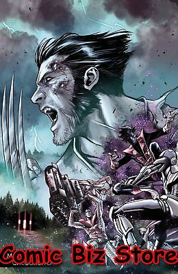 Hunt For Wolverine #1 (2018) 1St Printing Checcetto Variant Cover Marvel ($5.99)