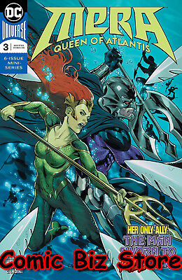 Mera Queens Of Atlantis #3 (Of 6) (2018) 1St Printing Dc Universe