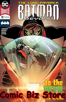 Batman Beyond #19 (2018) 1St Printing Bagged & Boarded Dc Universe Rebirth