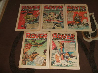 (M256) 5 Issues of The Rover Magazine - 1972