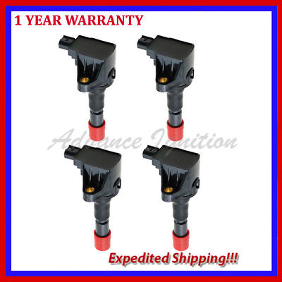 For 4PCS Quality Ignition coils UF626 EBM2910 HONDA FIT CRZ 1.5L L4 2009-ON