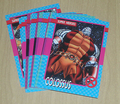 2015 Marvel Fleer Retro 1992 Impel X-Men 15-card set