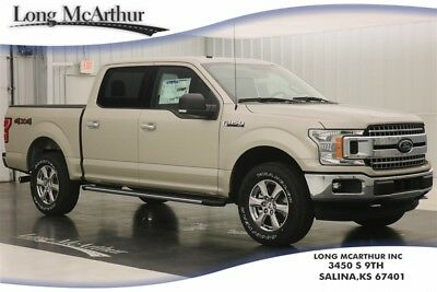 """Ford F-150 XLT 4X4 2.7 V6 SUPER CREW SHORT BED 4WD PICKUP TRUCK MSRP $49330 XLT CHROME APPEARANCE PACKAGE 18"""" CHROME-LIKE PVD WHEELS"""