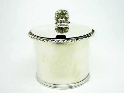 Silver Mustard Pot, Sterling, ANTIQUE, Large, Thomas Ross, Antique, London 1824