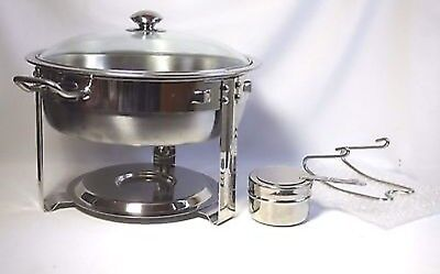 Seville Classics 4 Quart Stainless Steel Chafing Dish