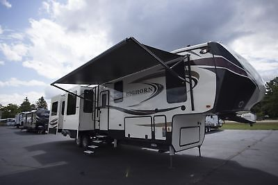 Bighorn 3970RD Fifth Wheel Luxury RV Rear Living King Bed Limited Availability