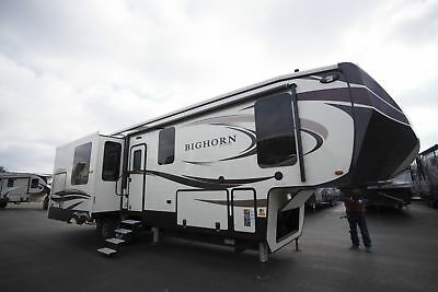 Bighorn 3500SE Fifth Wheel RV King Bed Outdoor Kitchen Last One On the Lot