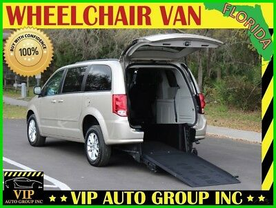 Dodge Grand Caravan SXT 2015 Dodge Handicap Wheelchair Van BraunAbility Rear Entry Manual Ramp