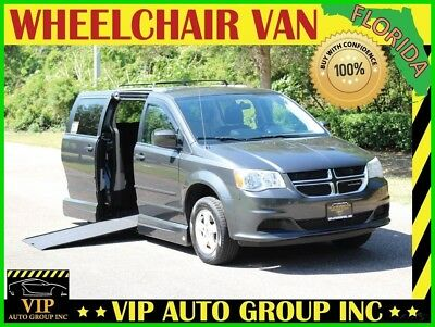 Dodge Grand Caravan SXT 2012 Dodge Handicap Wheelchair Van Mobility Side Entry Power Ramp