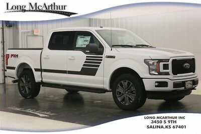 """Ford F-150 XLT 4X4 5.0 V8 SUPER CREW CAB SHORT BED 4WD TRUCK MSRP $56905 XLT SPORT APPEARANCE PACKAGE 20"""" TARNISHED DARK PAINTED WHEELS"""