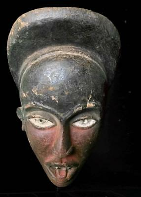 Old Tribal Dan Bete Ceremonial Mask --- Coted'Ivoire BN39