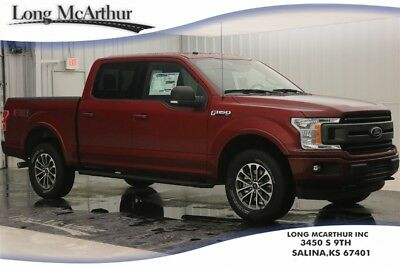 """Ford F-150 XLT 4X4 5.0 V8 SUPER CREW CAB SHORT BED 4WD TRUCK MSRP $53538 XLT SPORT APPEARANCE PACKAGE FX4 OFF ROAD 18"""" SIX SPOKE WHEELS"""