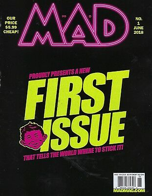 MAD Magazine June 2018   New First Issue
