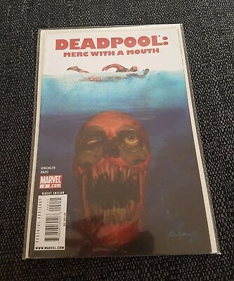 Deadpool merc with a mouth 2 uber rare jaws homage cover