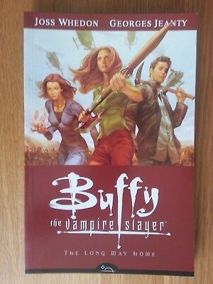 Buffy The Vampire Slayer : The Long Way Home Paperback S8V1