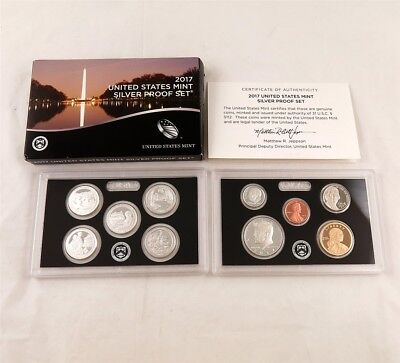 2017 S United States Mint Silver Proof Set