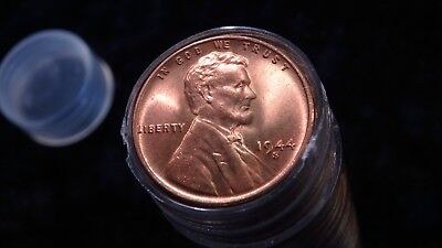 1944 S Supurb Gem+ Bu+ Uncirculated Lincoln Wheat Cent Roll No Guess Work Needed