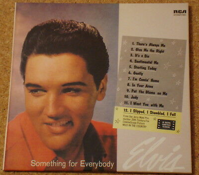 ELVIS PRESLEY - Something For Everybody - NEW CD album - FREEPOST IN UK