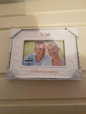 50th Wedding Anniversary Photo Frame 900 Picclick