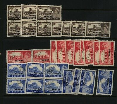 Bahrain   609-611   used lot of 10 stamps  each          MS0318