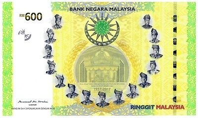 Complete UNC Set 60th Annver. of the Signing of the Fed. of Malaya Independence