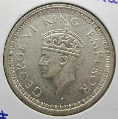 British-India 1944-B Silver Rupee! Minty+++! Km# 557.1! Really Nice Type Coin!