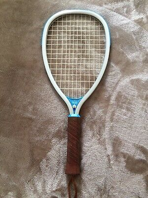 Vintage Raquetball Racquet 80's Voit AMF Impact blue/silver 4 inch