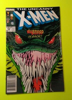 THE UNCANNY X-MEN #232 The BROOD is back ! 1987