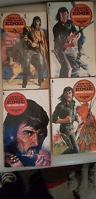 Edge by George G. Gilman four western paperbacks no's 41 - 44