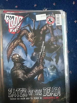 2000 Ad Magazine #1339-Eater Of The Dead....