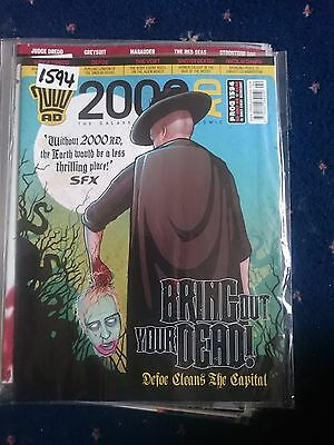 2000 Ad Magazine #1594- Bring Out Your Dead...