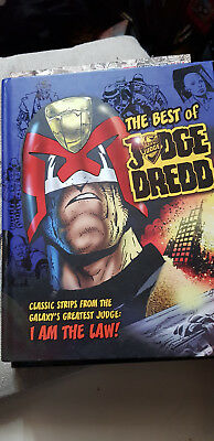 BEST OF 2000AD Hardcover GRAPHIC NOVEL 1st edition