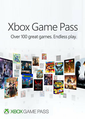 Xbox Game Pass 1 Monat Trial Version