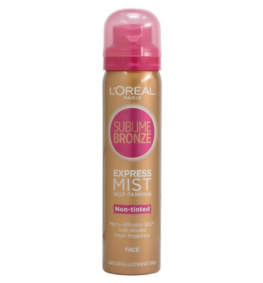 L'Oreal Sublime Bronze Express Mist Self-Tanning Non-Tinted for Face (75ml)