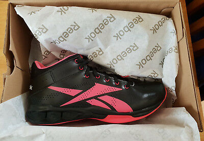 8c443b9c6f03 Reebok Womens HexRide Intensity Mid Trainer in Black Pink Sports Gym  Breathable