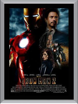 Iron Man 2 A1 To A4 Size Poster Prints