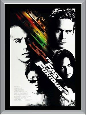 The Fast And The Furious Art A1 To A4 Size Poster Prints