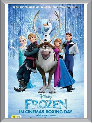 Frozen Movie A1 To A4 Size Poster Prints